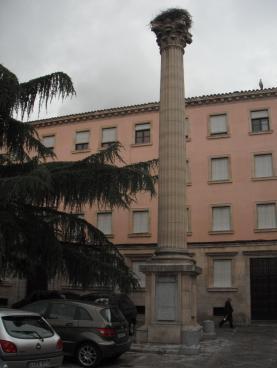 columna conmemorativa de la fundación de León, 10 de Junio de 1968