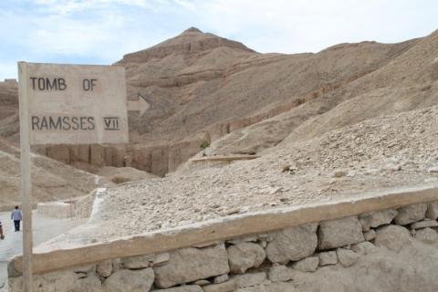 Valle de los reyes. Egipto. foto martinez enredando