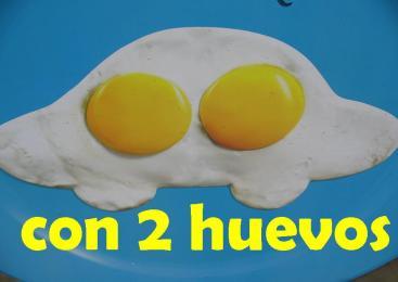 con dos huevos