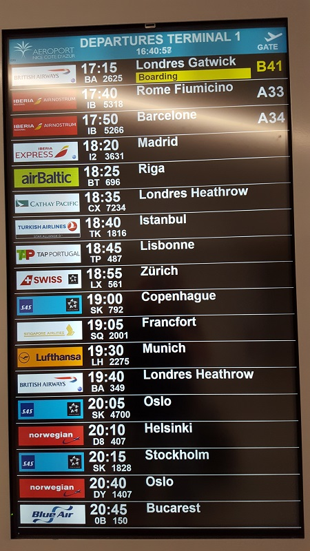 marcador aeropuerto