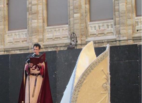 recreación coronación Alfonso VI 16 julio 2016 hl2