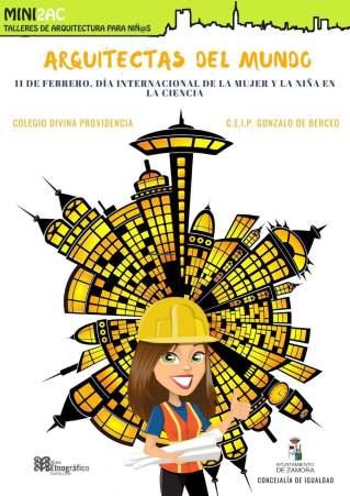 Zamora organiza talleres de arquitectura para Niñ@s