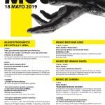 Cartel Día de los Museos 2019 Zamora