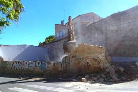 Derribo Bajada San Martín Zamora