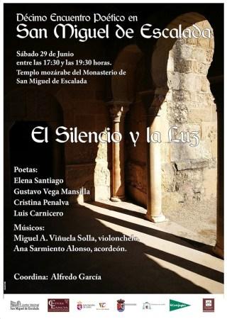 San Miguel De Escalada Celebra Este Sabado El X Encuentro Poetico