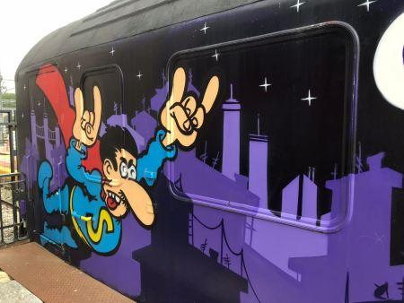 toral en tren