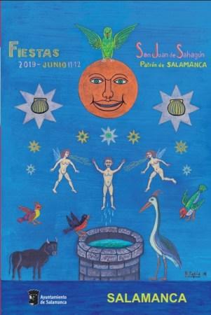 cartel de las fiestas de San Juan de Sahagún 2019