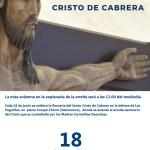romería del cristo de cabrera 2019