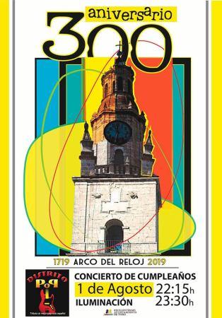 300 aniversario torre del reloj de Toro