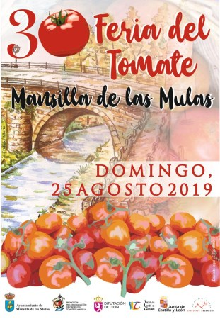 feria del tomate mansilla de las mulas
