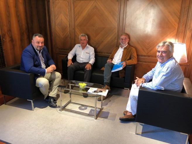 presidentes de la Casa de León en Sevilla y de la Asociación de Pendones del Reino de León