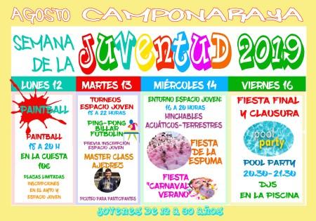Semana Juventud 2019 Camponaraya