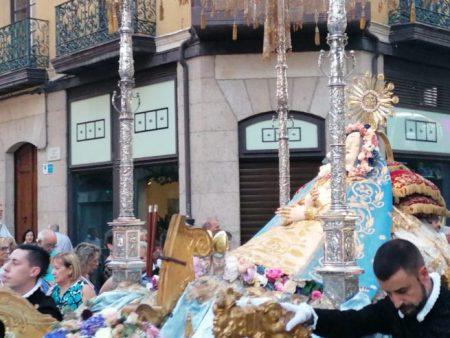 Virgen del tránsito zamora