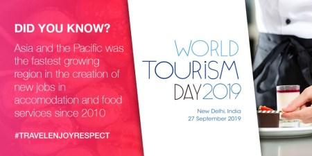 Día Mundial del Turismo 2019