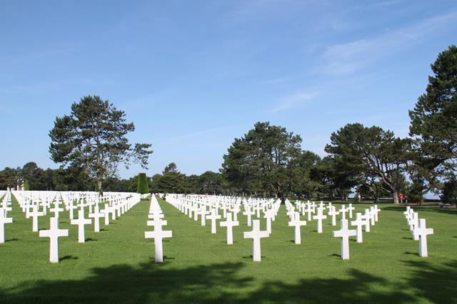 Cementerio americano de Omaha Beach