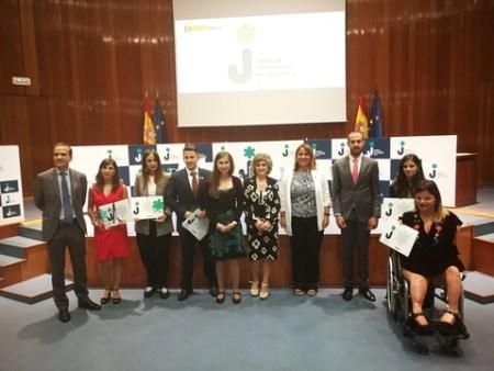 Entrega Premios Nacionales de Juventud 2019