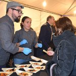 primera degustación de las Jornadas Gastronómicas de El Bierzo