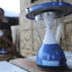 lampara solar Eliminación de la Violencia contra la Mujer