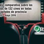 estudio comparativo cines de españa