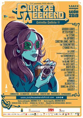 Purple Weekend Estrella Galicia 2019