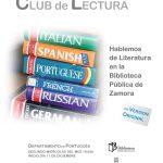 Clubes de Lectura en Idiomas en la Biblioteca Pública de Zamora