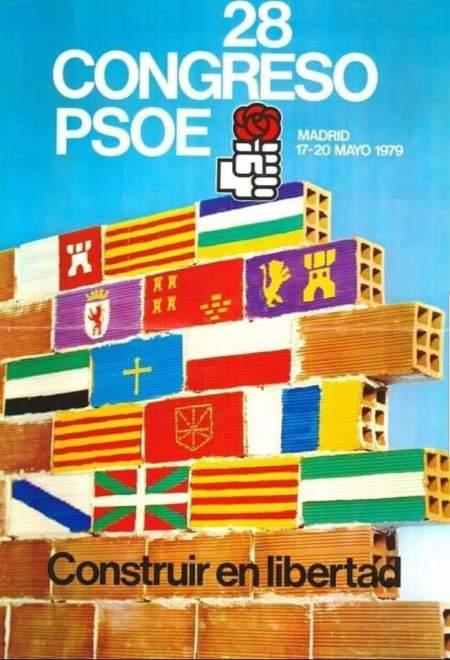 cártel psoe regiones españa
