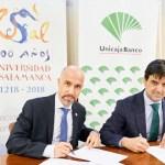 La Universidad de Salamanca renueva su colaboración con Unicaja Banco