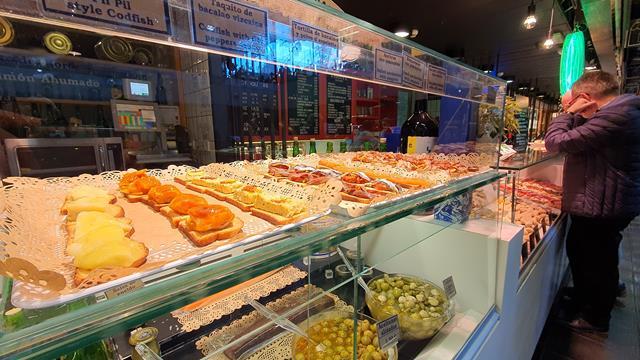 Mercado san Antón Madrid