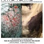 Cartel Exposicion Proyectos Finales CFGS Arte Textil-2020
