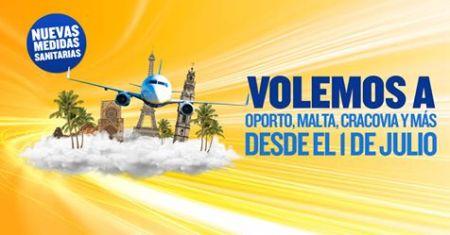 Ryanair celebra la reapertura de España al turismo a partir del 1 de julio