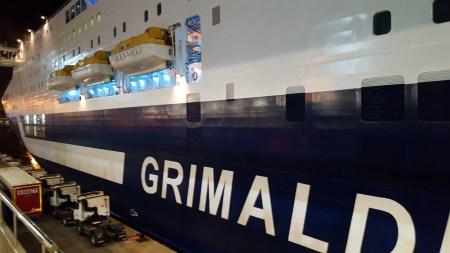 GRIMALDI puerto de barcelona