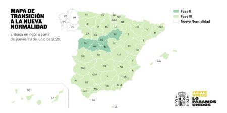 fase 3 de Barcelona y Lleida