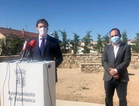 Salamanca convierte el Parque de Chamberí en un mirador