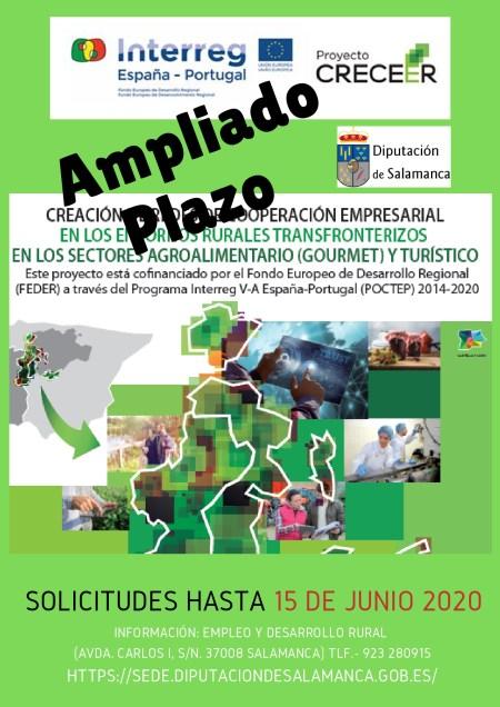 AMPLIADO EL PLAZO programa crecer ciudad rodrigo