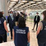 medidas necesarias para controlar a los pasajeros internacionales