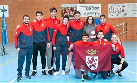 Equipo de Voleibol masculino de la ULE, oro en el Trofeo Rector 2020