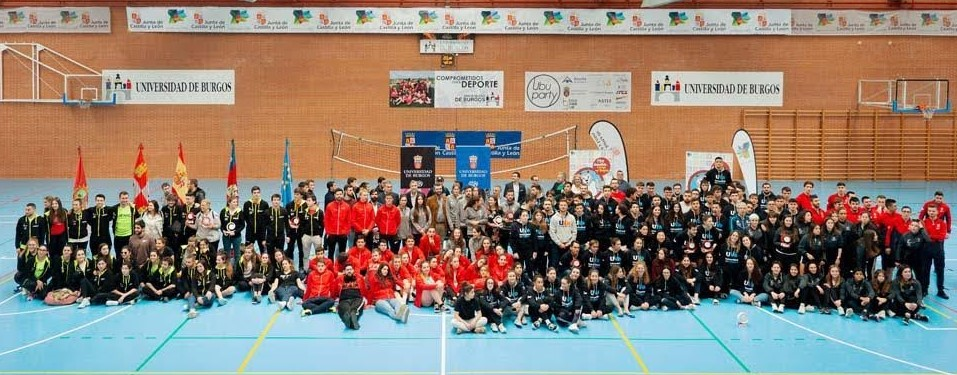 Foto de familia del Trofeo Rector CyL 2020