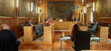 foto reunión Diputación de León