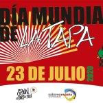 23 julio día mundial de la tapa
