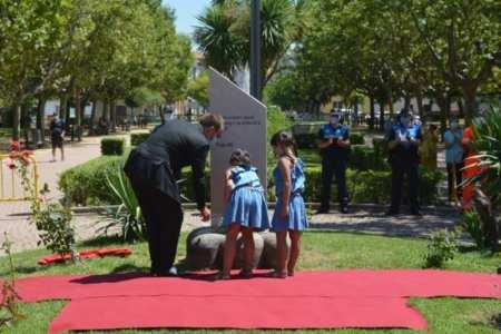 el homenaje municipal por las víctimas de la Covid-19 de Ciudad Rodrigo
