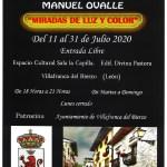 CARTEL EXPOSICIÓN MANUEL OVALLE