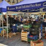 mercado tradicional plaza mayor león
