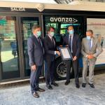 presentación del Certificado Acreditativo AENOR que ha logrado el transporte metropolitano de Salamanca