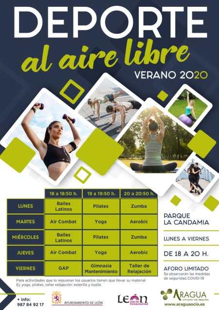 El Ayuntamiento de León programa actividades gratuitas de deporte