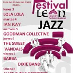 CARTEL FESTIVAL JAZZ LEÓN CUNA DEL PARLAMENTARISMO 2020
