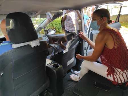 taxistas de Zamora dispondrán de mamparas protectoras