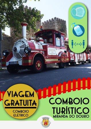 tren turístico miranda do douro