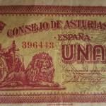 billete consejo soberano de asturias y león