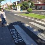 pictogramas pasos de peatones santa marta de Tormes