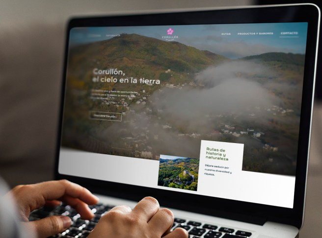 web de turismo de corullón